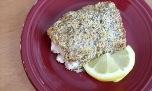 Baked Breaded Cod *