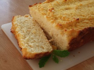 Coconut Flour Grapefruit Pound Cake *