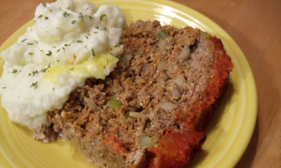 Tomato-Topped Meatloaf