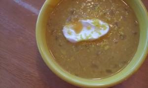 Pure & Simple Lentil Soup *