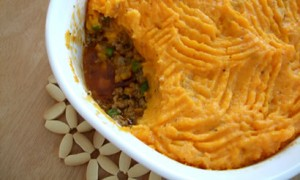 Sweet Potato Shepherd's-Cottage Pie