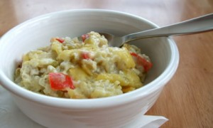 Green Chili-Chicken & Rice Casserole