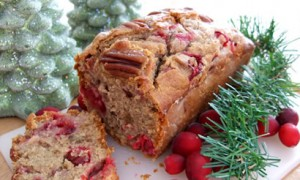 Orange-Glazed Cranberry Pecan Bread