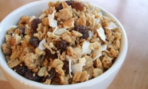 Homemade Soaked Granola