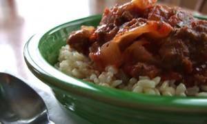 Crockpot Beef & Cabbage Casserole *