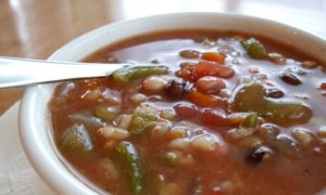 Multi-Bean & Vegetable Soup *