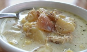 Potato Chicken & Corn Chowder