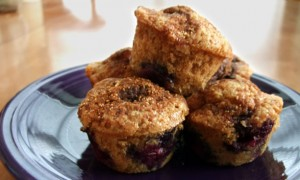 Ultimate Whole-Grain Blueberry Muffins