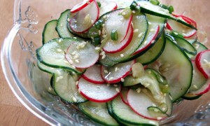 Asian-Style Cucumber & Radish Salad