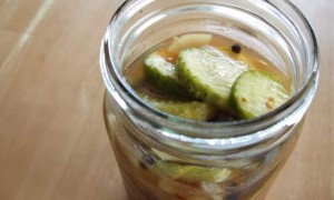 "Lacto-fermented ""Sweet & Spicy"" Pickles"
