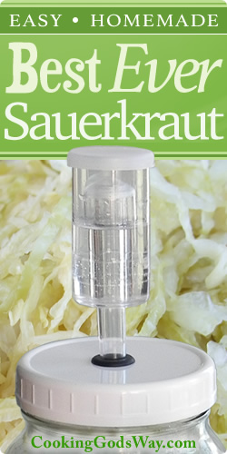 Best Ever Fermented Sauerkraut