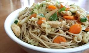 Yakisoba Japanese Stir-Fry Noodle Dish