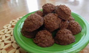 Cocoa-Coconut Macaroons *