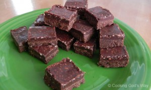 "Homemade ""Healthy"" Coconut Oil Fudge"