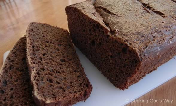 Sourdough Russian Black Bread — Cooking God's Way