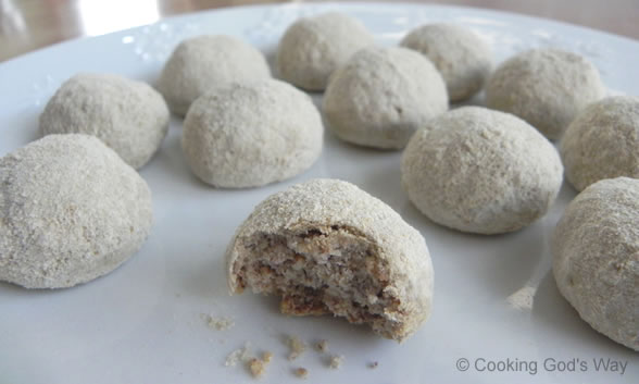 Snowball Cookies — Cooking God's Way