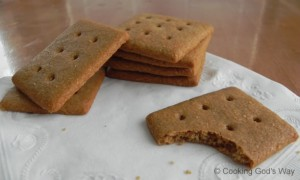 "Whole Wheat ""Honey"" Graham Crackers"
