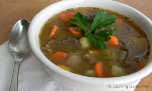 Winter-Vegetable Beef Stew