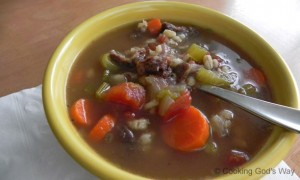 Oxtail & Barley Soup