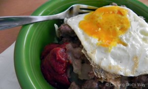 Ground Beef & Potato Hash