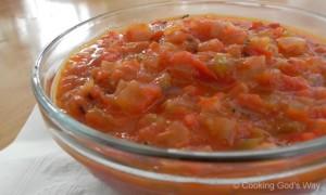 Roasted Habanero & Tomato Salsa *