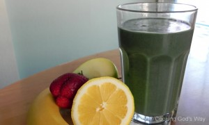 Spirulina Fruit Smoothie (Odwalla Green Superfood)