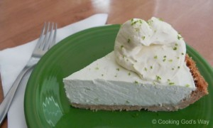 "No Bake ""Creamy"" Key Lime Pie *"