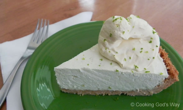 "No Bake ""Creamy"" Key Lime Pie * — Cooking God's Way"
