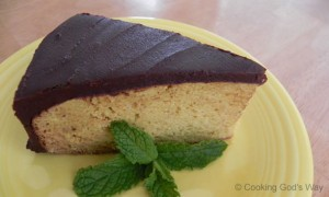 "Grain-free Yellow Vanilla ""Bean"" Cake"