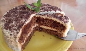 Tiramisu Teeccino Cake