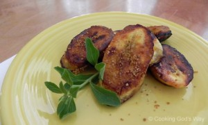 Sweet Treat: Caramelized Plantains