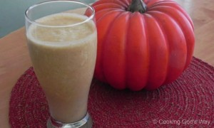 """Pumpkin Pie"" Kefir Smoothie"