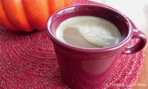 Pumpkin-Spiced Teeccino Latte