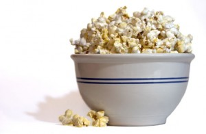 Theater Popcorn, Weight Loss, Eat Some Fat!