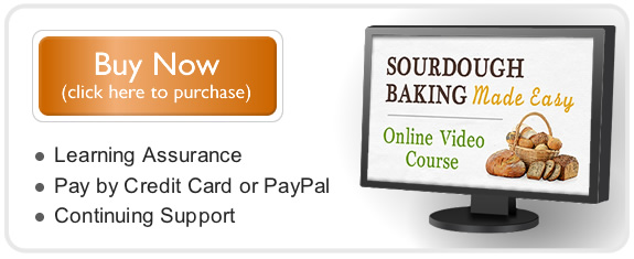 Sourdough Baking Made Easy eCourse