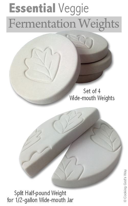 Essential Veggie Fermentation Weights